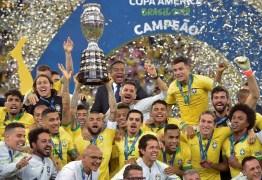 Brasil assume vice-liderança do ranking da Fifa após vencer a Copa América