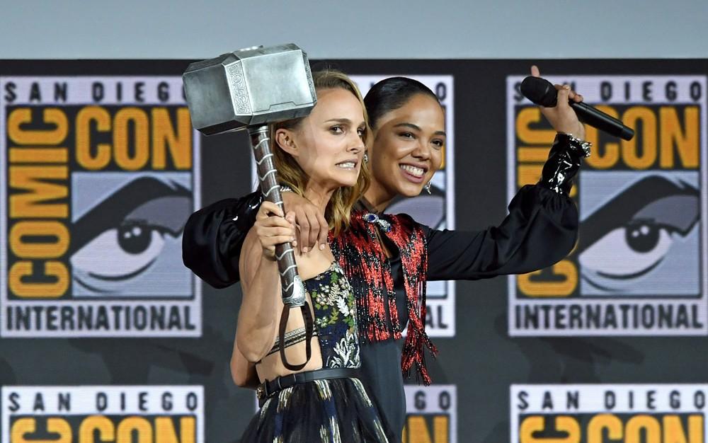 Natalie Portman será 'Deusa do Trovão' em novo filme de Thor