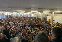'DESMONTE DAS UNIVERSIDADES': Estudantes e professores lotam UFPB contra o Projeto 'Future-se'