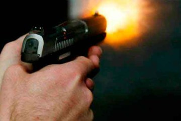 uso arma fogo 1 - Motoboy é baleado durante tentativa de assalto em João Pessoa