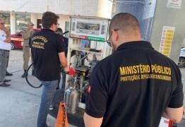 Operação notifica três postos de combustíveis de João Pessoa por irregularidades