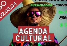 AGENDA CULTURAL: Diversos eventos movimentam o fim de semana na capital paraibana