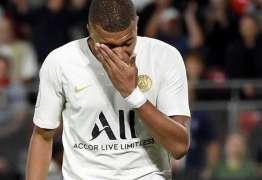 Sem Neymar, PSG perde para Rennes com Mbappé e Cavani em campo