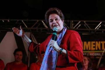 20190824135805428931u - Dilma critica Bolsonaro e compara Lula a Mandela