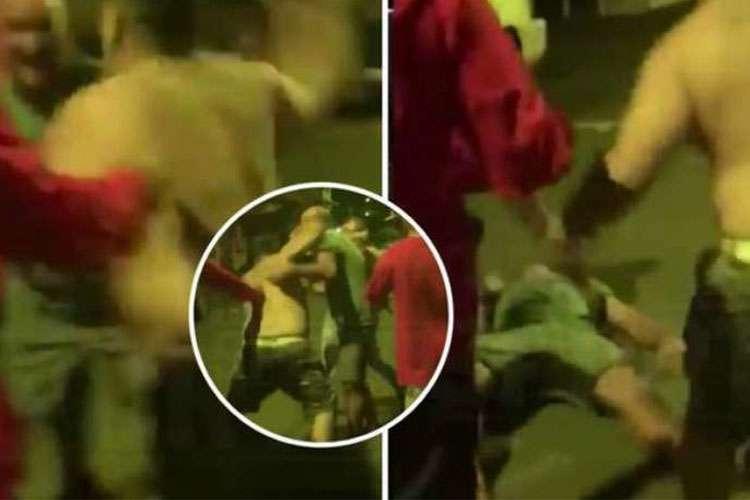 20190829193717702516o - AGRESSÃO: Ex-campeão do UFC é nocauteado em briga de rua no Havaí; VEJA VÍDEO