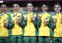 Brasil conquista medalha de ouro na ginástica rítmica dos Jogos Pan-Americanos de Lima