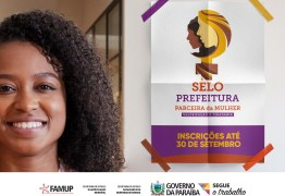 Municípios podem se inscrever no Selo 'Prefeitura Parceira das Mulheres' até 30 de setembro