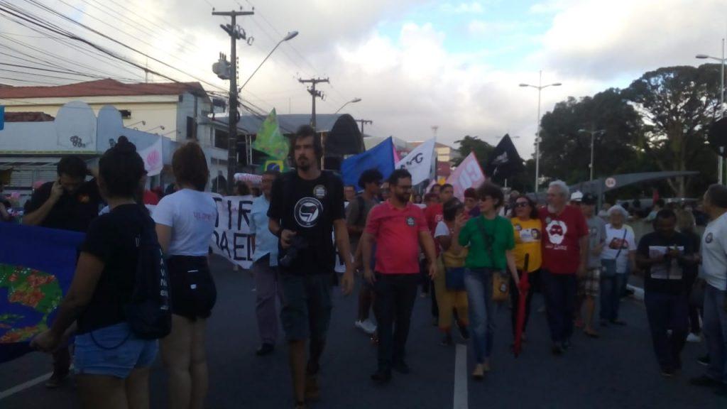6bfef164 0421 4ce5 8046 eed0a3e77840 1024x576 - ATO PÚBLICO EM JP: Estudantes e professores protestam contra cortes na Educação
