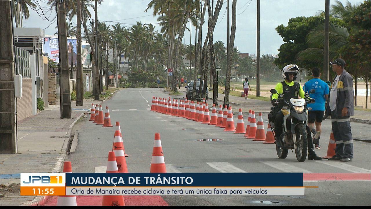 MANAÍRA SUFOCADA: Ciclofaixa na orla prejudicou trânsito de carros e não facilitou para as bicicletas – Por Camilo Flamarion