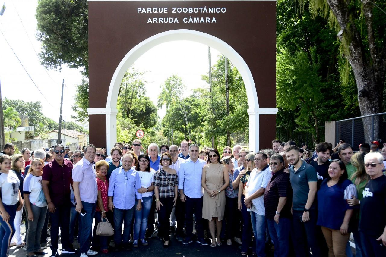 CARTAXO BICA fiti kleide teixeira 01 - Luciano Cartaxo entrega primeira etapa do Novo Parque da Bica no aniversário da Capital
