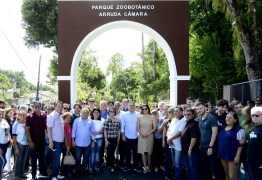 Luciano Cartaxo entrega primeira etapa do Novo Parque da Bica no aniversário da Capital