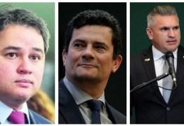 COMITIVA MINISTERIAL: Efraim Filho e Julian Lemos viajam com Sérgio Moro de Brasília para João Pessoa nesta sexta-feira