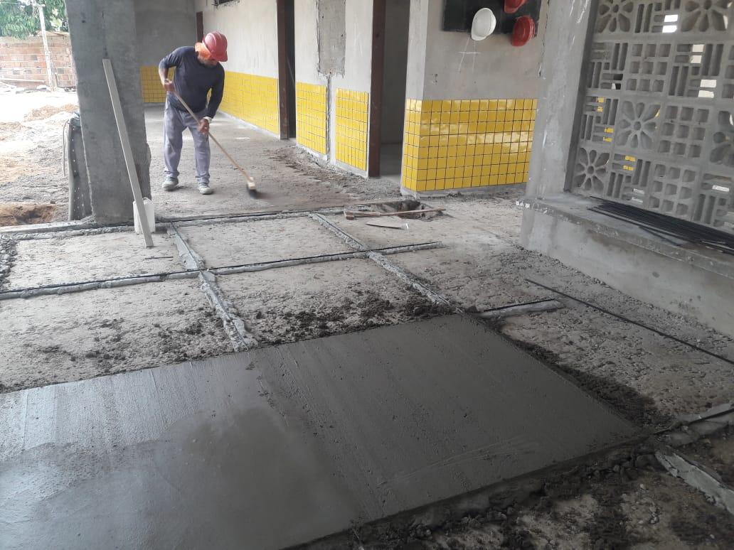 CREI Creche AssentamentoDonaAntônia 13 - Obras do CREI do Assentamento Dona Antônia seguem em ritmo avançado