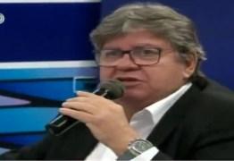 João Azevedo: não tenho obrigação de estar alinhado com qualquer que seja o presidente para que a Paraíba possa receber recursos federais