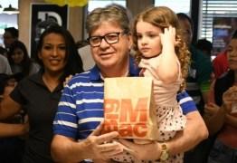 MCDIA FELIZ: Governador João Azevêdo participa da campanha e destaca importância