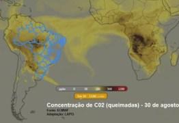 Fumaça da África chega ao Nordeste e eleva poluição do ar a nível crítico