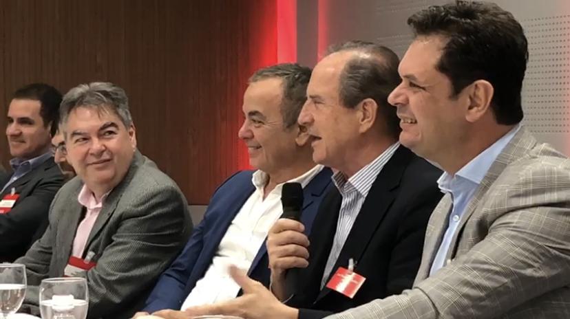 IMG 9848 - Lindolfo Pires e ex-Ministro Luiz Fernando Furlan participam de Seminário do Lide Paraíba