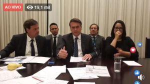 JAIR BOLSONARO 1 300x168 - CAIXA-PRETA DO BNDES: Bolsonaro promete divulgar negociatas em banco estatal e compra de jatinho para apresentador global; VEJA VÍDEO