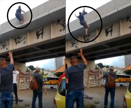 Missionária suicidio 1 - Pastores ficam abalados após ver vídeo de Pastora que pulou de ponte e saber o motivo do suicídio