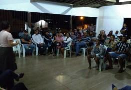 Prefeita Márcia Lucena realiza Olá Comunidade em Mata da Chica e fala sobre as ações de segurança na região