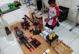 Estudantes de Conde participam da etapa estadual da XIII Olimpíada Brasileira de Robótica
