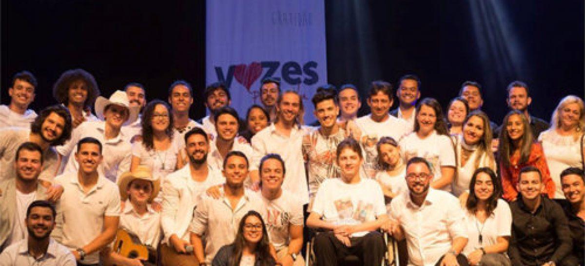 'Vozes pela vida' doará todo dinheiro do show para ASPAN-PB