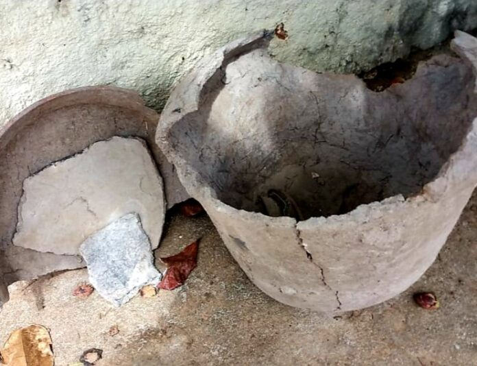 aaa 14 696x534 - HISTÓRIA PRESERVADA: Urna funerária anterior ao século 17 é encontrada em sertão da Paraíba