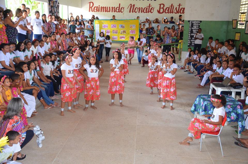 afro2 - Em Santa Rita, 11 mil alunos participam de projeto sobre cultura afro-brasileira