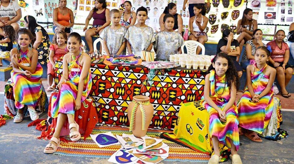 afro4 - Em Santa Rita, 11 mil alunos participam de projeto sobre cultura afro-brasileira
