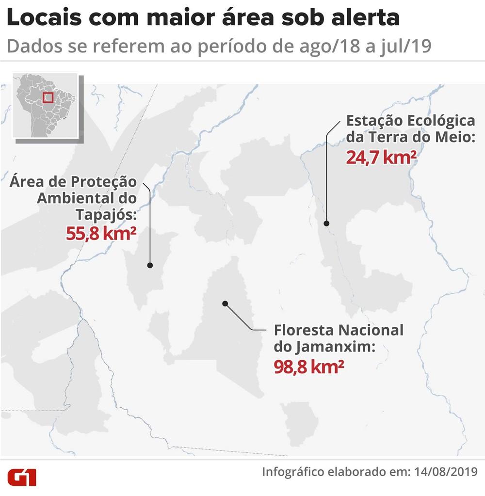 alertas desmatamento locais - PREOCUPAÇÃO GLOBAL: Dados oficiais de desmatamento da Amazônia confirmam alertas nos últimos 3 anos
