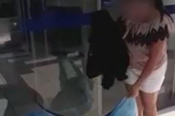 amante2 - Mulher traída deixa roupas do marido para amante em agência bancária - VEJA VÍDEO