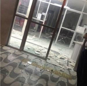 assalto bradesco sjrpeixe agosto2019 2 banco 300x298 - NOITE DO TERROR: Bandidos explodem agência do Banco Bradesco em São João do Rio do Peixe; VEJA VÍDEO