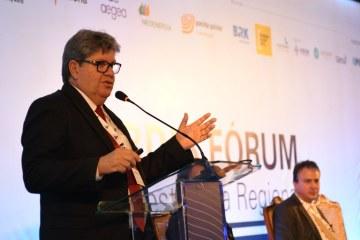 FÓRUM DA ABDIB: João Azevêdo apresenta potencialidades da Paraíba