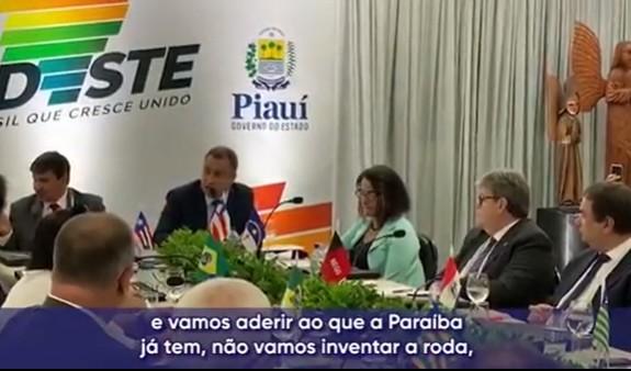 bahia e paraíba - PREÇO DA HORA: Governador da Bahia adere ao aplicativo e elogia iniciativa paraibana - VEJA VÍDEO