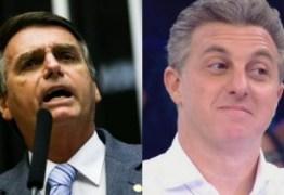 Luciano Huck se diz surpreso com repercussão de fala sobre Bolsonaro