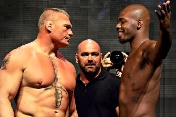 brock lesnar jon jones - Amigo próximo revela qual seria a única luta que poderia tirar Brock Lesnar da aposentadoria