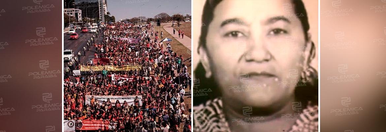 c400a3cc e1c8 4381 8ef9 386b0babda60 - 100 MIL MULHERES: Marcha feminista que relembra luta história de paraibana, chega à Brasília