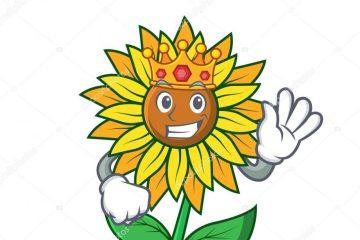 depositphotos 203804140 stock illustration king sunflower mascot cartoon style e1566381797958 - DESTERRO DOS GIRASSÓIS: A vaidade alimentada pela bajulação midiático-palaciana transformou Ricardo num árbitro do governo - Por Júnior Gurgel