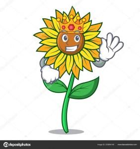 depositphotos 203804140 stock illustration king sunflower mascot cartoon style 282x300 - DESTERRO DOS GIRASSÓIS: A vaidade alimentada pela bajulação midiático-palaciana transformou Ricardo num árbitro do governo - Por Júnior Gurgel