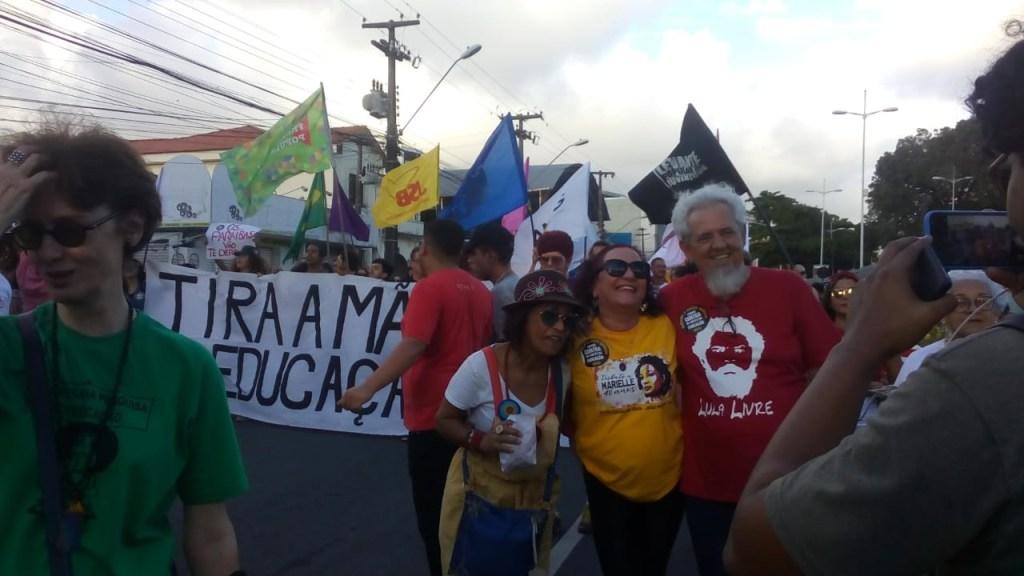 e984c98f 3224 44a2 80d9 3851da184d70 1024x576 - ATO PÚBLICO EM JP: Estudantes e professores protestam contra cortes na Educação
