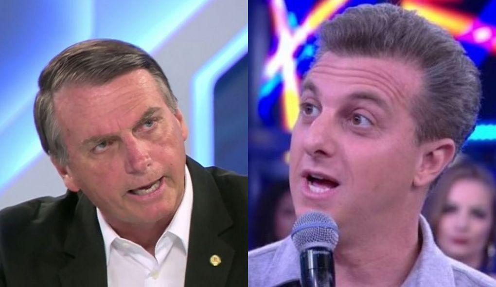 Bolsonaro dá indireta a Huck sobre jatinho: 'vou mostrar o que você fez'
