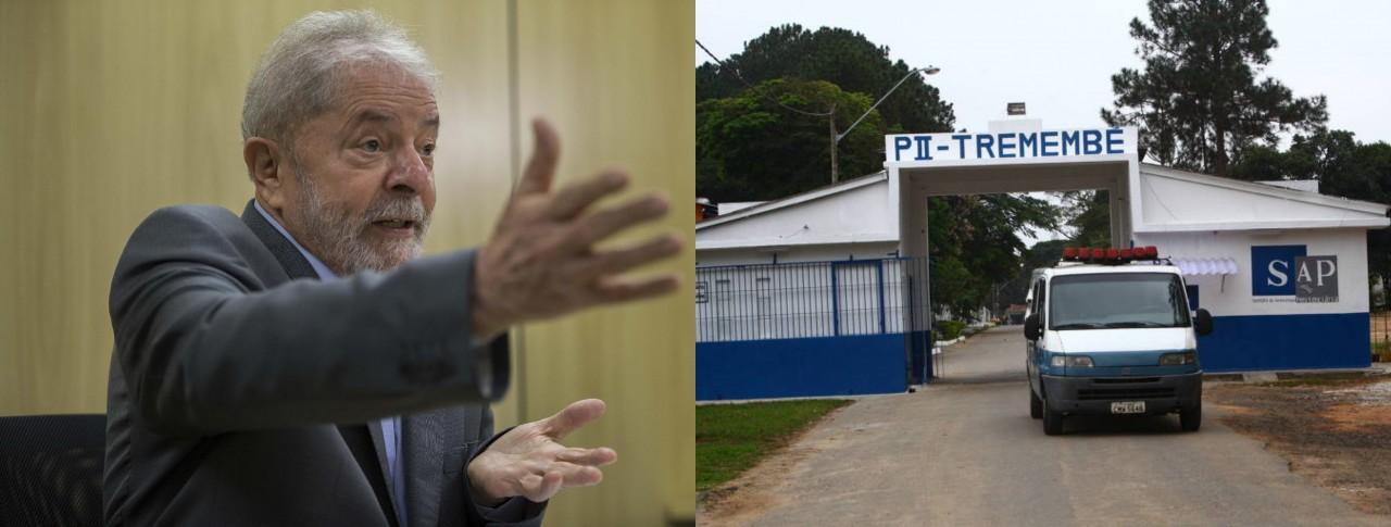 lula e tremembé - TREMEMBÉ: Lula vai para mesmo presídio de Nardoni e outros presos famosos