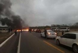 PROTESTO: Confira atualização de pontos de interdição nas rodovias na Paraíba: VEJA VÍDEO