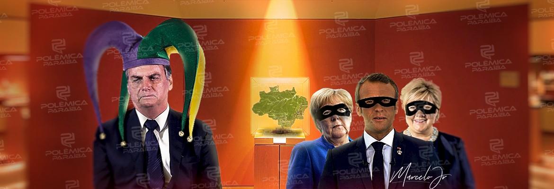 montagem567 - Amazônia atrai um presidente aloprado e um bando de oportunistas - Nonato Guedes