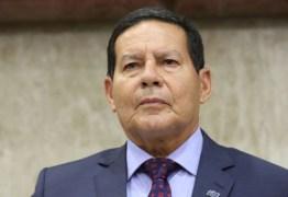 Vice-presidente Hamilton Mourão adia vinda à Paraíba