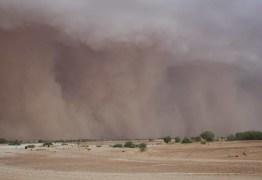Enorme tempestade de areia filmada em um avião na Austrália – VEJA VÍDEO