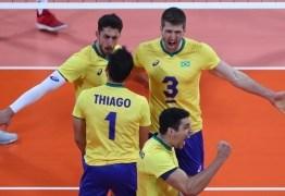 Seleção masculina de vôlei vence EUA e avança à semifinal do Pan