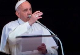'Ouvimos discursos que lembram os de Hitler em 1934', diz Papa Francisco