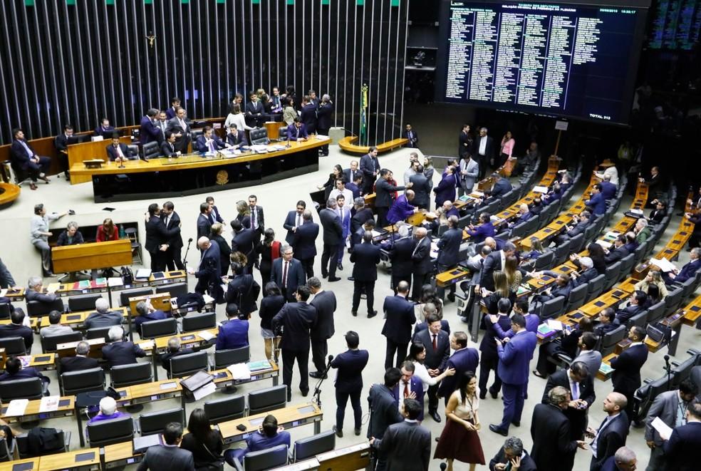 plenario camara - Câmara rejeita destaques e conclui votação da reforma da Previdência; texto vai ao Senado