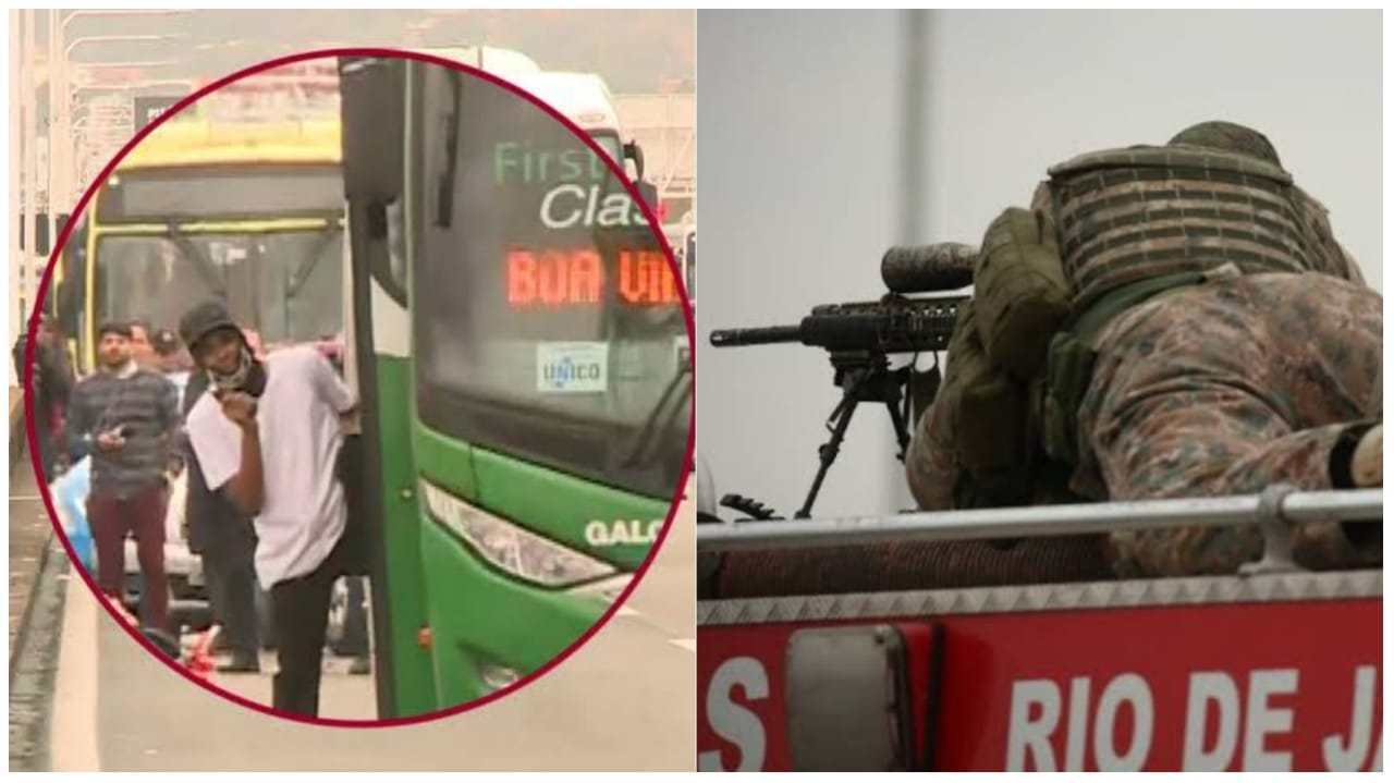 video sniper comemora apos abater sequestrador de onibus no rio de janeiro1566316574 - Loja lucra com camisas estampadas com sniper que matou sequestrador da Ponte Rio-Niterói